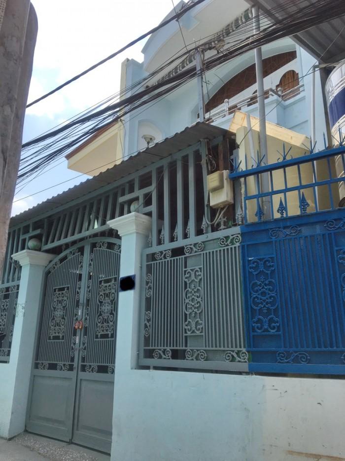 Bán nhà 100m2 hẻm 1247 Huỳnh Tấn Phát P. Phú Thuận Quận 7.
