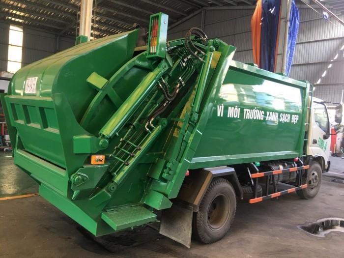 Bán xe cuốn ép rác Hino XZU342 Euro 4  7 khối (m3 )