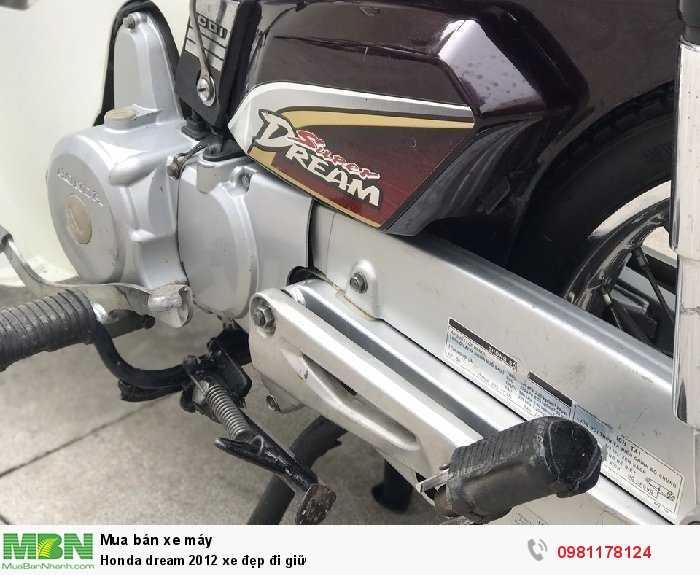Honda dream 2012 xe đẹp đi giữ