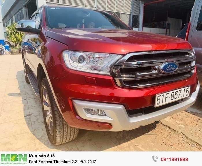 Ford Everest Titamium 2.2L Đ/k 2017