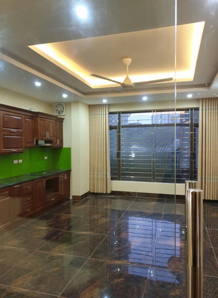 Cần bán nhà riêng lô góc 2 mặt tiền Vạn Phúc, Hà Đông, Hà Nội. Nhà xây mới 32m x 5 tầng .