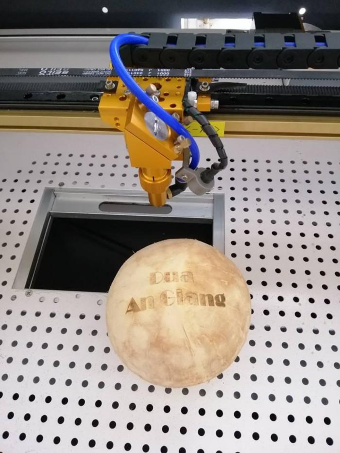 máy laser cắt khắc gỗ mini