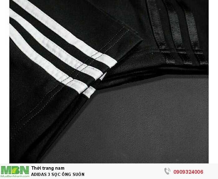 Adidas 3 Sọc Ống Suôn2