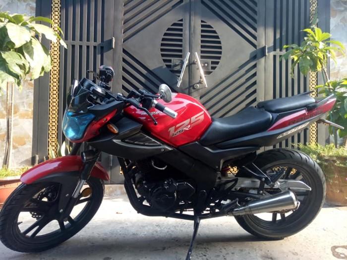 Bán xe Moto Nutos 125c màu đỏ -đen bstp mới 95% nguyên zin, xe nhà xài kỹ bảo dưỡng thay nhớt định kỳ