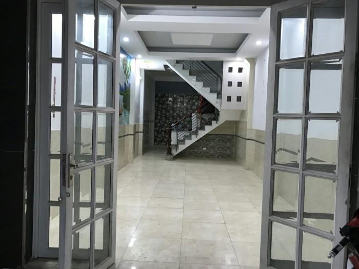 Cần bán nhà mới xây hẻm Lê Văn Quới