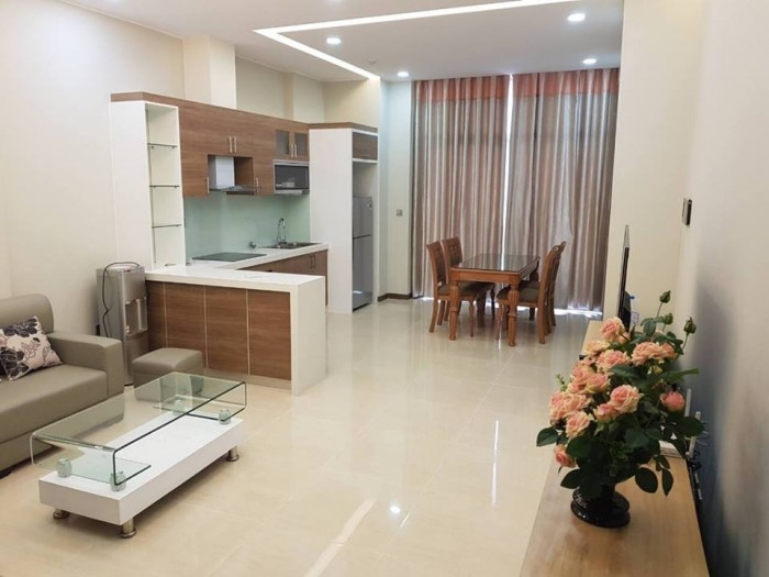 Cho thuê căn hộ chung cư CT14A Ciputra, 90m2 (3PN + 2WC), Full nội thất, Giá rẻ.