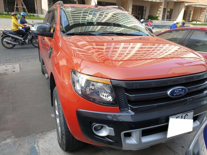 Ford Ranger Wildtrak 2.2L Đỏ Cam 2014 Xe Đẹp Cho Mọi Người.