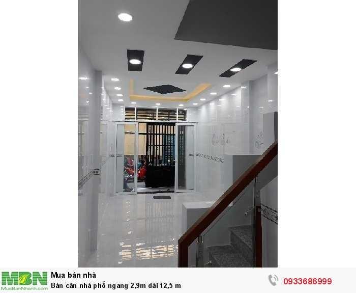 Bán căn nhà phố đường Trần Phú Quận 5, ngang 2,9m dài 12,5 m