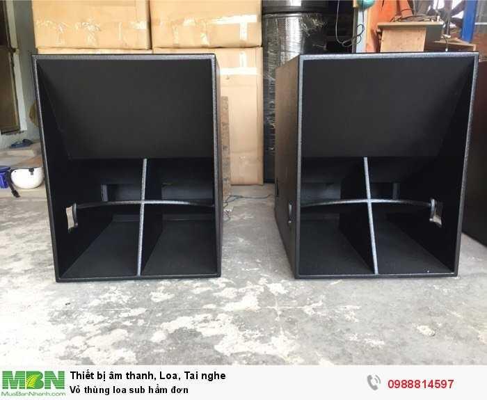 Vỏ thùng loa sub hầm đơn2