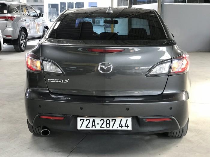 Bán Mazda 3 sedan 1.6MT màu xám số sàn nhập Nhật 2010 gốc Sài Gòn