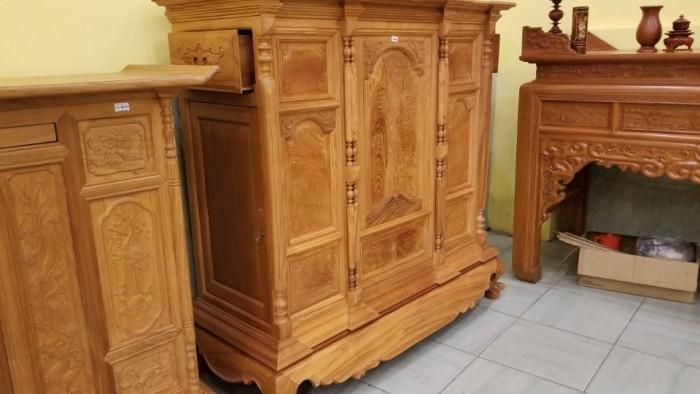 Tủ thờ chơn bụng phẳng , hàng đẹp tại Tiền Giang2