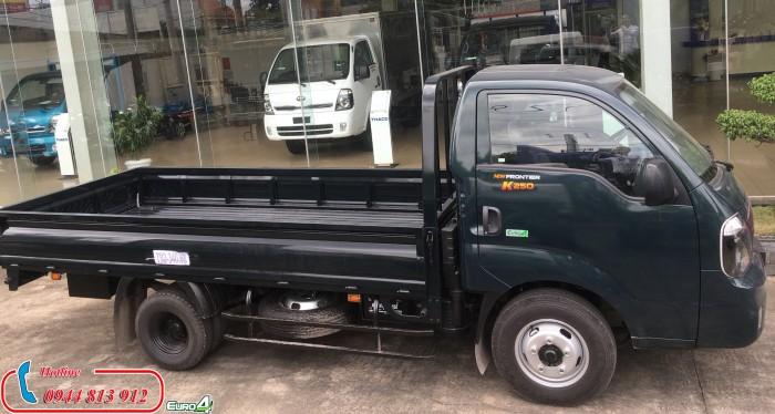 Xe tải 2,5 tấn - Xe tải kia k250 thùng lửng - Hỗ trợ trả góp
