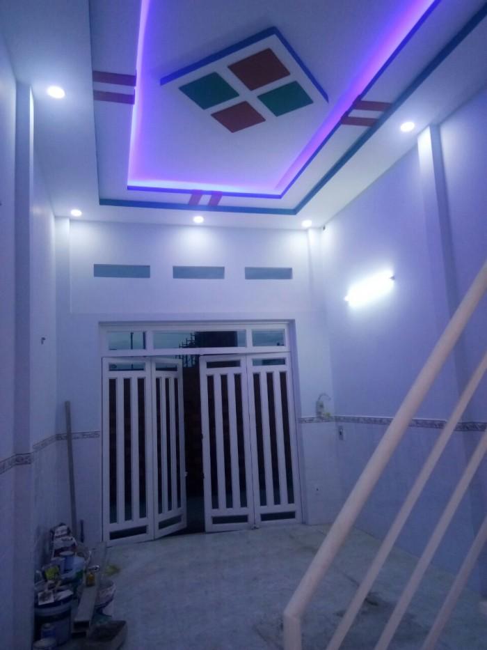 Bán gấp nhà mới xây ở quận Bình Tân