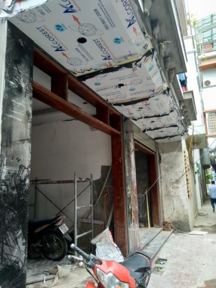 Bán nhà 5 tầng xây mới ngõ 12 Hàm Nghi ( căn góc )