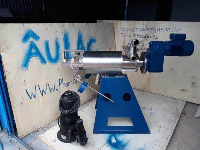 Máy tách ép phân Mini sản xuất tại Việt Nam giá rẻ1