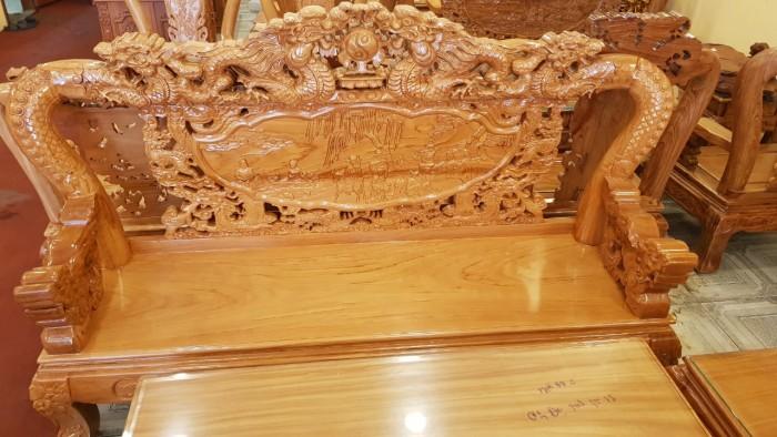 Bộ bàn ghế tay 12 với tên gọi lưỡng long chầu nguyệt2