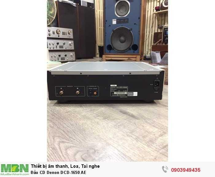 Đầu CD Denon DCD-1650 AE