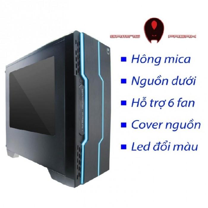 Vỏ thùng Case Gaming Freak GFG-DKWC1 Dark Wiccanchính hãng0