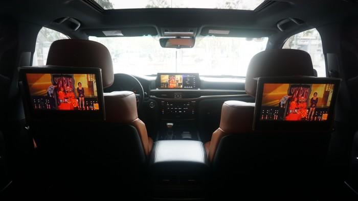 MT AUTO 88 TỐ HỮU Bán xe Lexus LX 570 năm sản xuất 2015, màu đen, nhập khẩu chính hãng 20