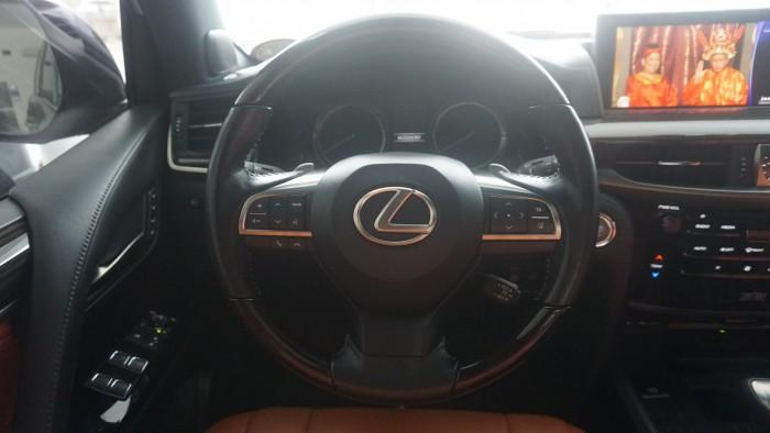 MT AUTO 88 TỐ HỮU Bán xe Lexus LX 570 năm sản xuất 2015, màu đen, nhập khẩu chính hãng 19
