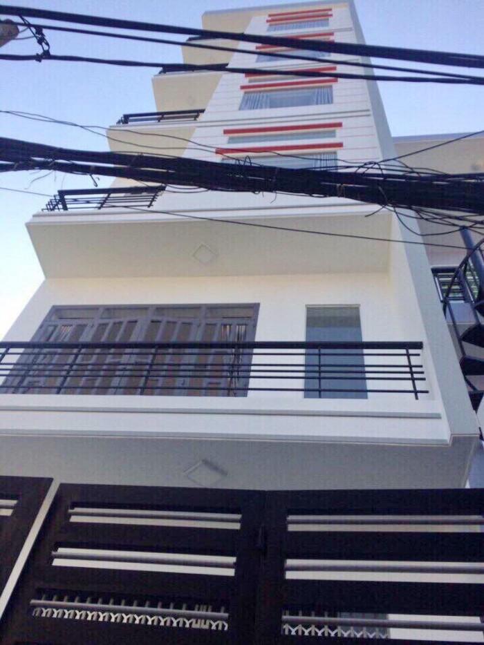 Bán căn hộ dịch vụ hẻm 157 đường Dương Bá Trạc Phường 1 Quận 8.