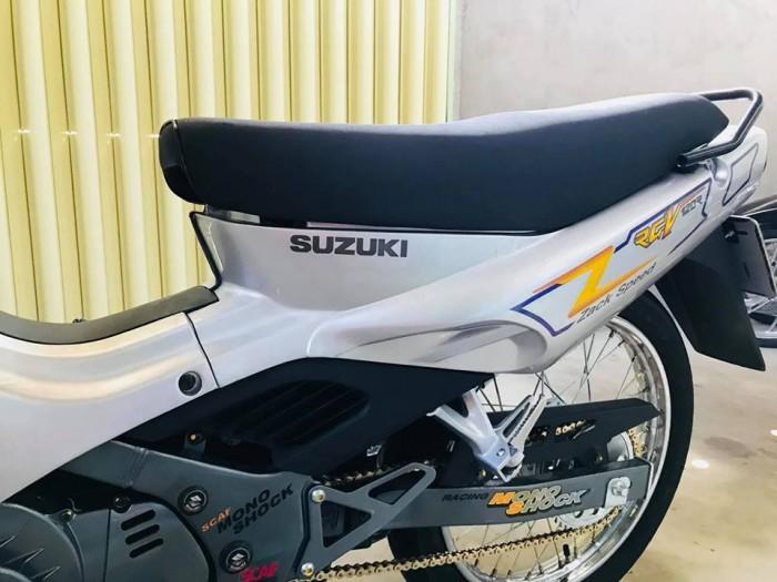Bán xe Suzuki/sport Xipo 120 màu bạc đời 2002. Xe mới đẹp