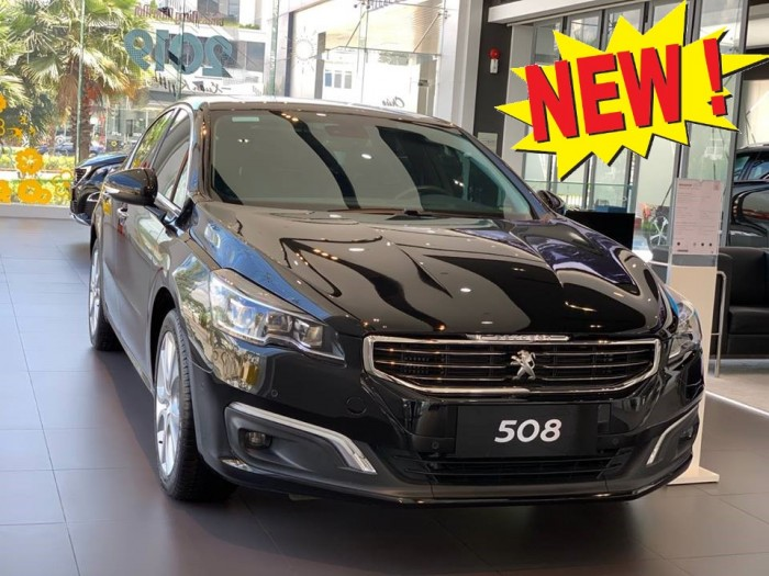 Sedan nhập Pháp Peugeot 508 đời 2015 Mới Khuyến mãi hấp dẫn