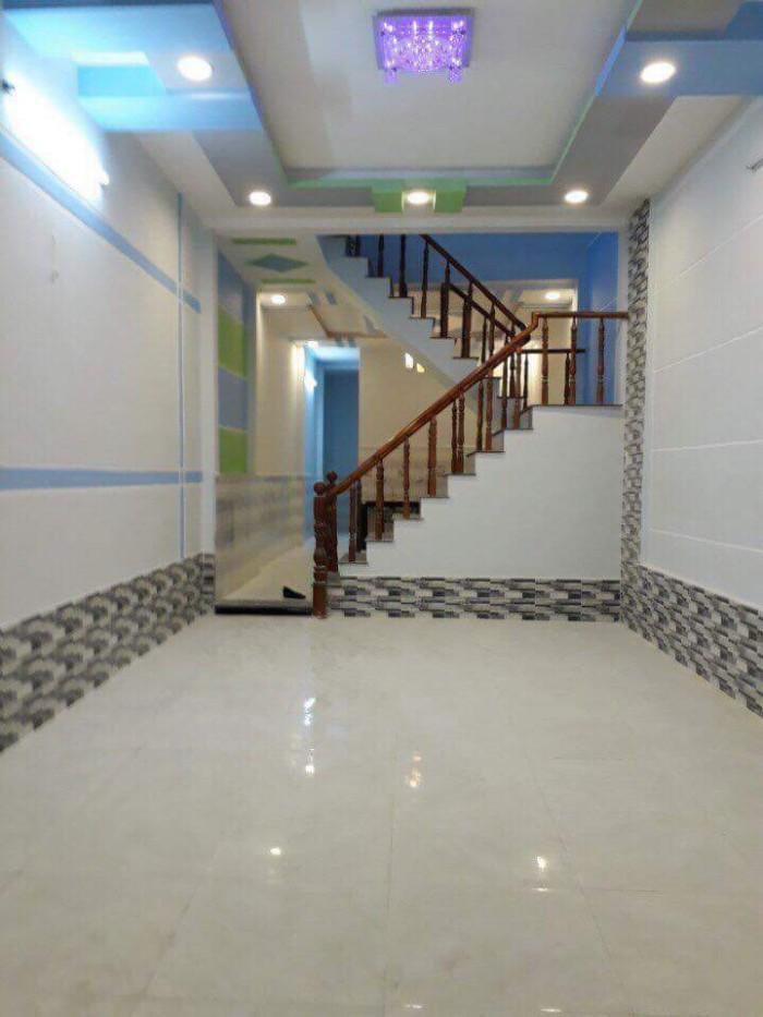 Cần bán căn nhà 1 triệt 3 lầu 280m2 tỉnh lộ 835C - Phước Lợi Căn SHR