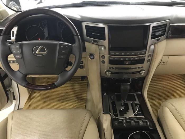 Bán Lexus LX570 nhập Mỹ, màu trắng,sản xuất 2013, đăng ký 2014, tư nhân, chính chủ, biển Hà Nội.