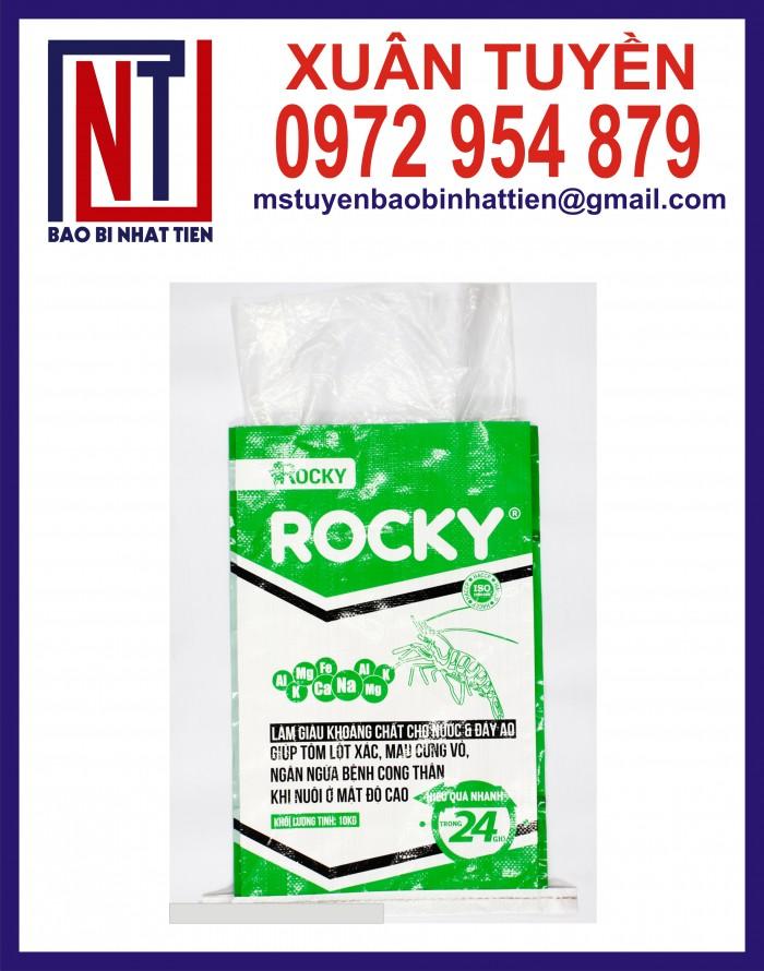 Cung cấp bao gạo ghép màng hoặc tráng nhựa PP25