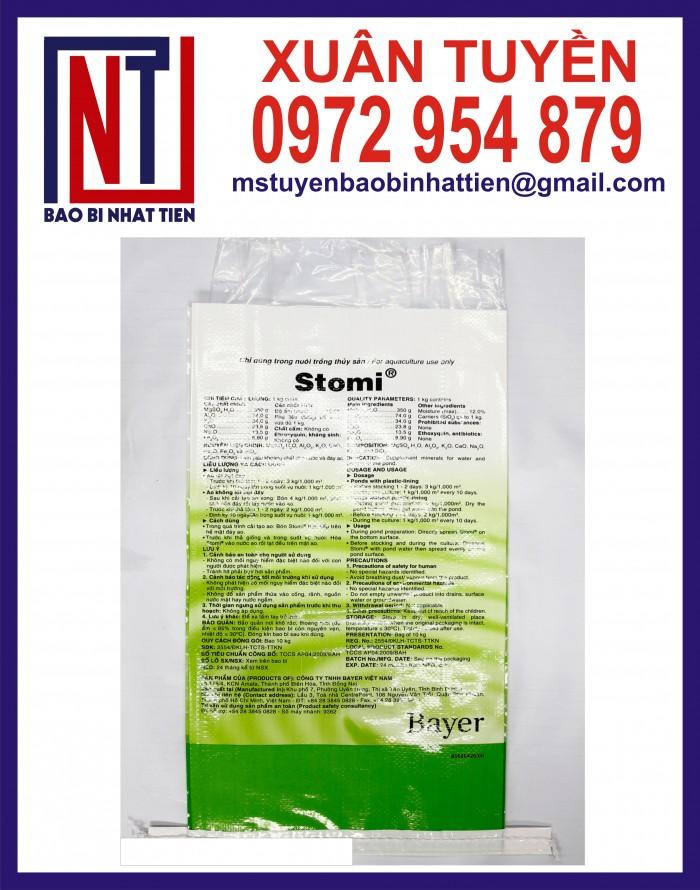 Cung cấp bao gạo ghép màng hoặc tráng nhựa PP23
