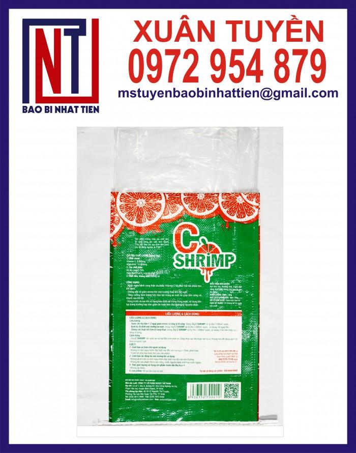 Cung cấp bao gạo ghép màng hoặc tráng nhựa PP21