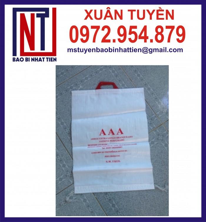 Cung cấp bao gạo ghép màng hoặc tráng nhựa PP18