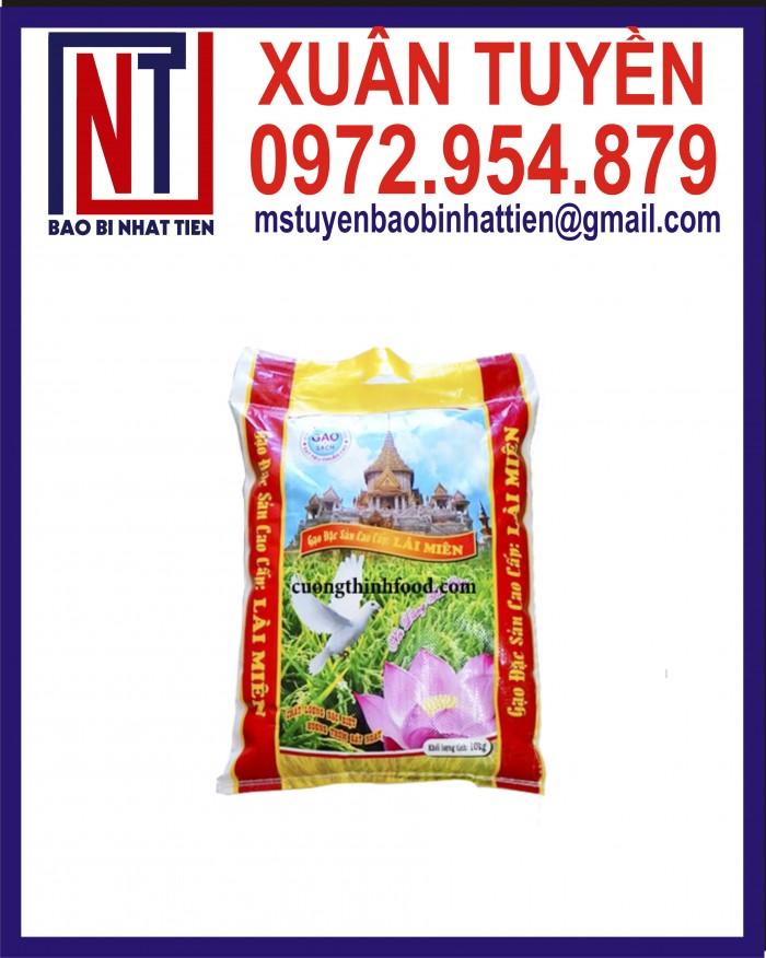 Cung cấp bao gạo ghép màng hoặc tráng nhựa PP4