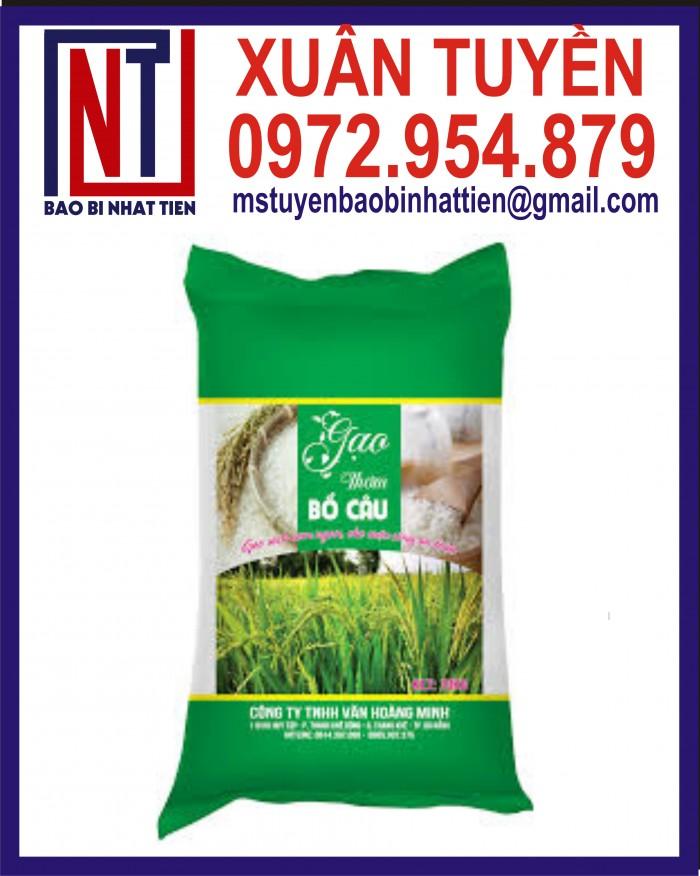 Cung cấp bao gạo ghép màng hoặc tráng nhựa PP0