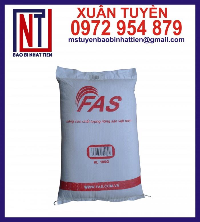 Cung cấp bao gạo ghép màng hoặc tráng nhựa PP3