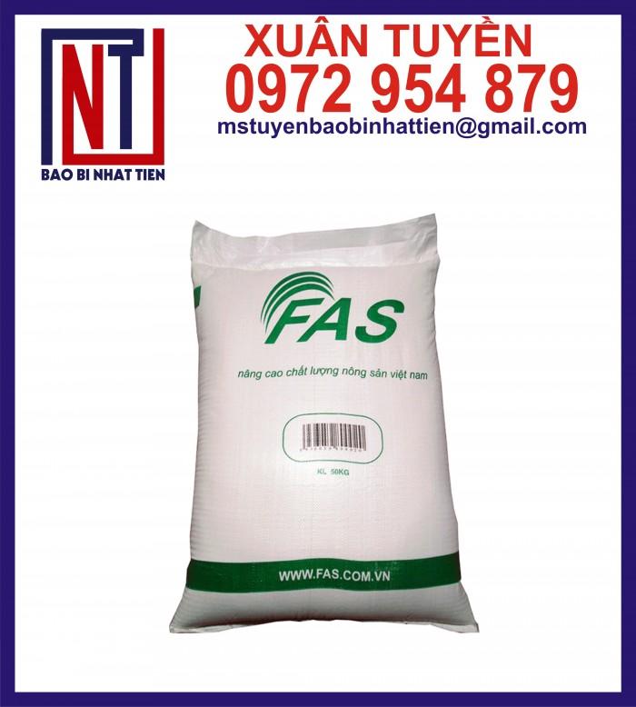 Cung cấp bao gạo ghép màng hoặc tráng nhựa PP1