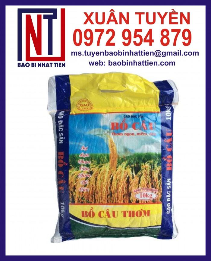 Cung cấp bao gạo ghép màng hoặc tráng nhựa PP8