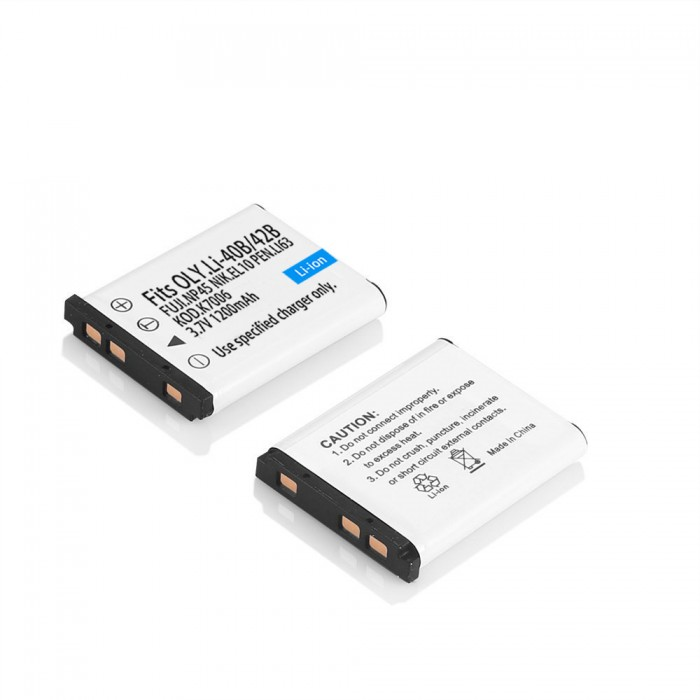 Pin Máy Ảnh Fuji NP45 NP-45A Camera Battery0