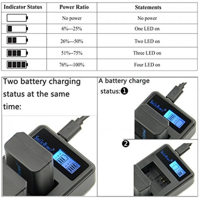 Sạc Pin NP FW50 Dual Charger For NP-FW50 (Hot)5