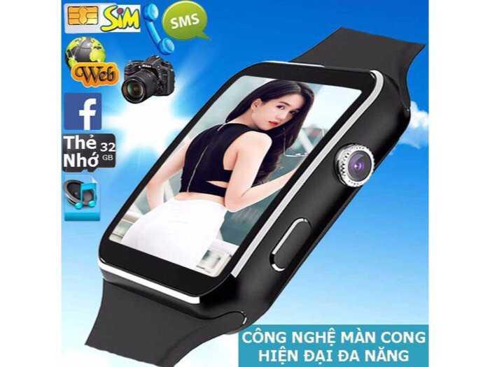 Đồng Hồ Thông Minh X6 dùng độc lập như điện thoại Cảm ứng0