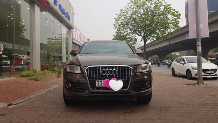 Bán Audi Q5 nhập mỹ, sản xuất 2013, đăng ký 2014, xe đẹp, biển đẹp, giá rẻ