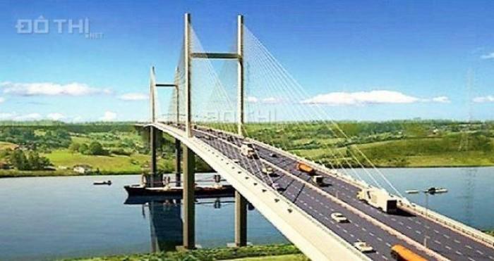 Đất vàng đường Lý Thái Tổ nối cầu bắc sang Nguyễn Thị Định, Quận 2, giá chỉ 8,9tr/m2
