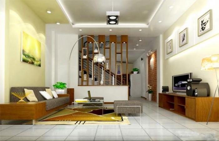 Nhà đẹp, chắc chắn phố Trương Định, 32m2, 4 tầng