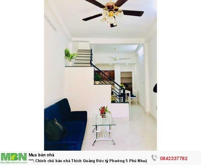 Chính chủ bán nhà Thích Quảng Đức tỷ Phường 5 Phú Nhuận