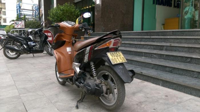 Bán xe YAMAHA Luvias 125 Fi nâu vàng chính chủ