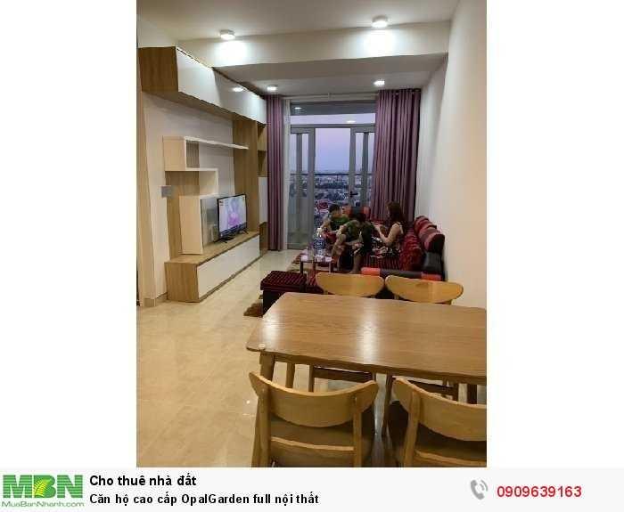 Căn hộ cao cấp OpalGarden full nội thất