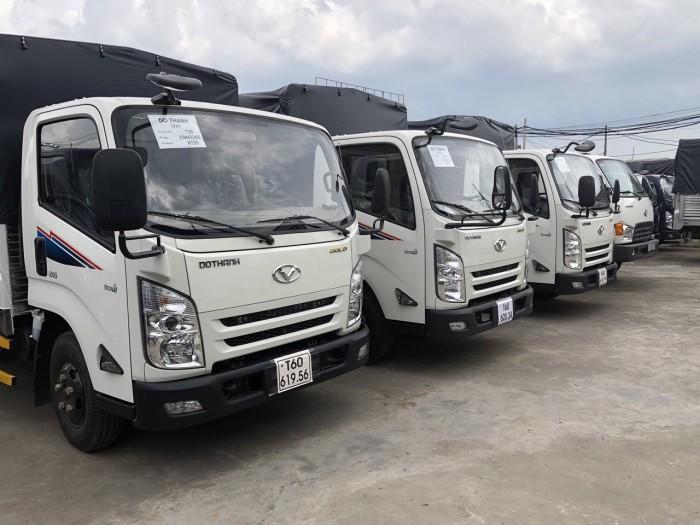 Xe tải IZ65 Đô Thành 3,5 tấn thùng mui bạt