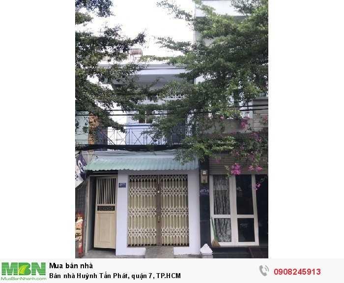 Bán nhà Huỳnh Tấn Phát, quận 7, TP.HCM