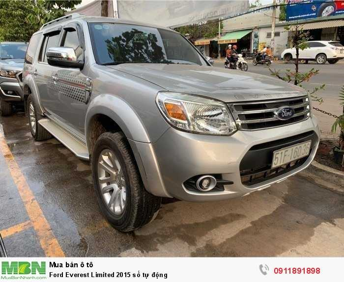 Ford Everest Limited 2015 số tự động